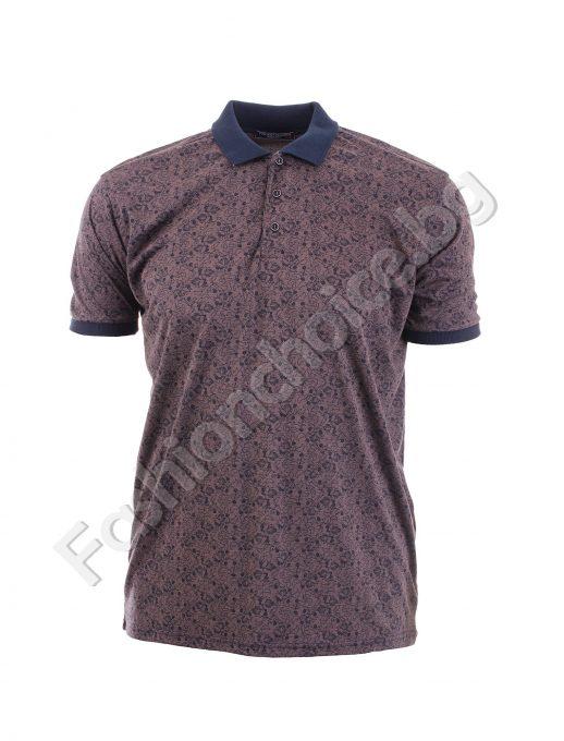 Bluza maxi cu buzunar si guler in culori moderne
