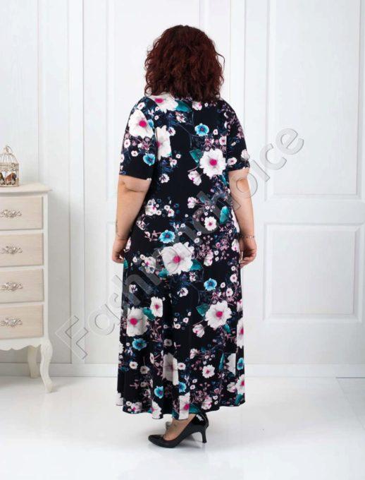 Rochie maxi umprimeu floral- margarete Cod:070-2
