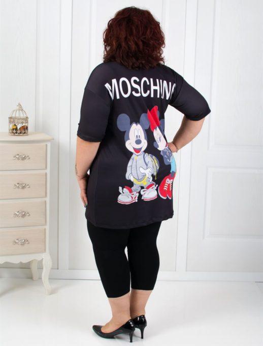 Set maxi din doua piese cu imprimeu Mickey si Mini Cod: 788-7