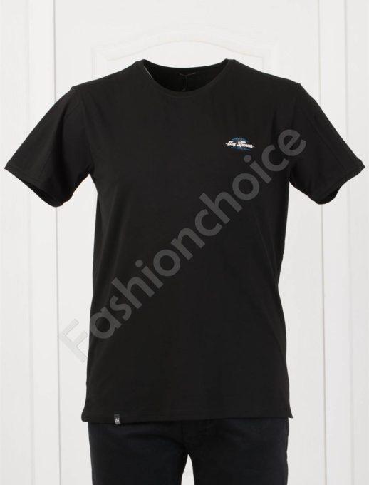 Tricou maxi cu inscris /4XL, 5XL/-negru -cod 073-8