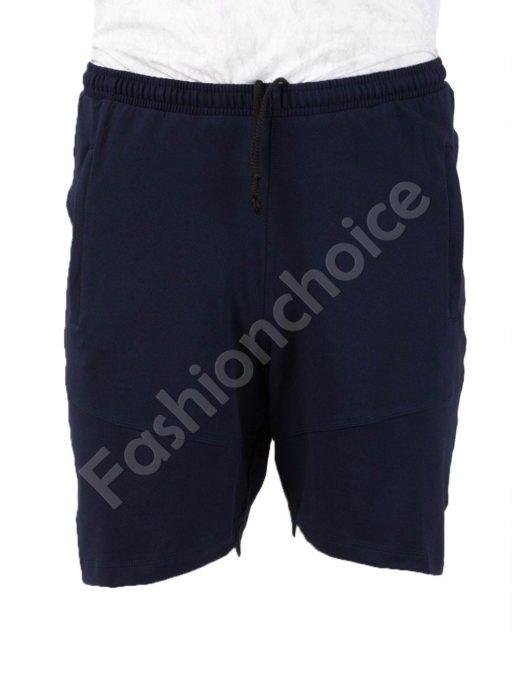Pantalon scurt din bumbac /58, 60, 62, 64,66/-bleumarin Cod 001-2