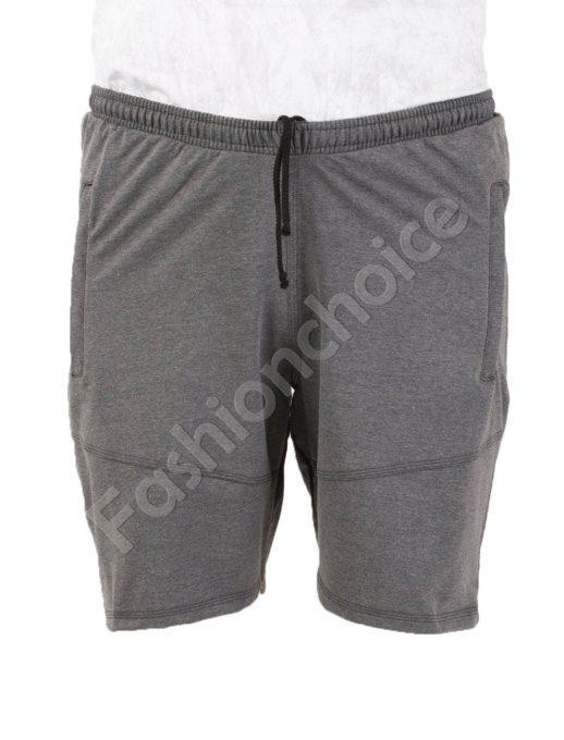 Pantalon scurt din bumbac /58, 60, 62, 64,66/-gri Cod 001-1
