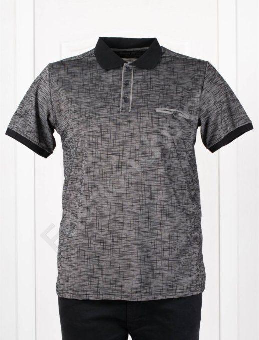 Bluza maxi cu guler/3XL-10XL/-negru- cod 406-2