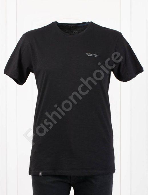 Tricou maxi cu inscris EXP/3XL,4XL, 5XL/-negru cod 100-9
