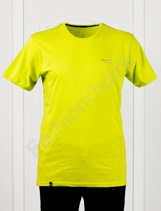Tricou maxi cu inscris EXP- verde deschis- cod 100-10